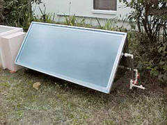 solar batch water heater