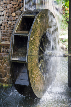 hydro power water wheel