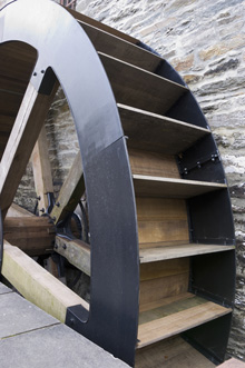 hydro energy waterwheel