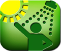 solar heating icon