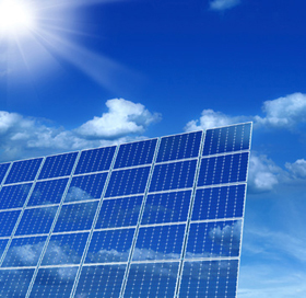 solar cell turns photons into electrons