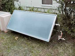 Solar Batch Water Heaters A Tank Of Water In The Sun