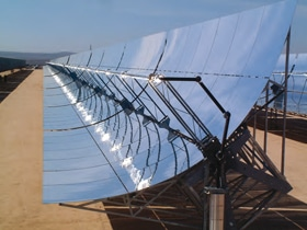 Parabolic Trough Reflector For Solar Thermal System