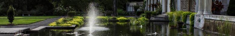 solar gardens fountain