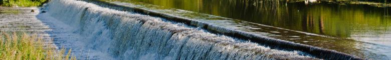 Micro Hydro Power Weir